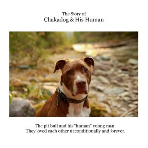 NEW BOOK ALERT: The Story of Chakadog & His Human